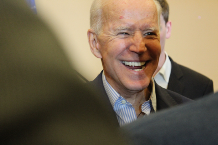 smiling uncle joe