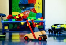 toys at a kindergarten