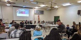 Moapa River Indian Reservation community engagement meeting