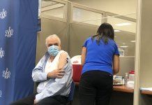 Governor Sisolak gets the flu shot